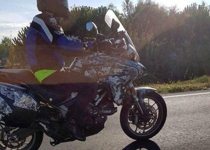 Spy shot of new Ducati Multistrada