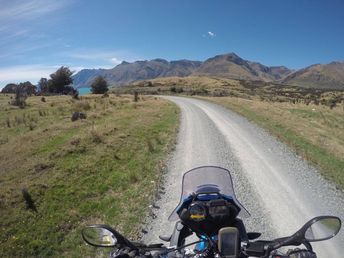 Off-road riding in New Zealand