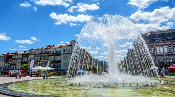 Praca da Republica, Braga-Portugal
