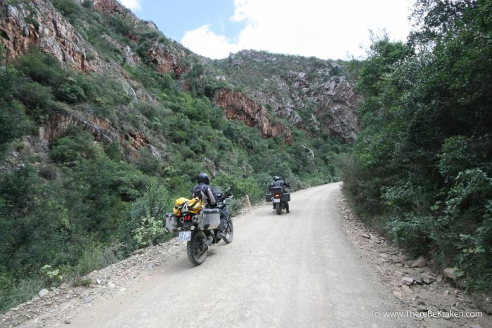 Riding the Baviaanskloof