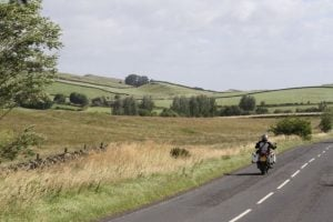 This motorcycle route in northern England offers some of Britain's best riding