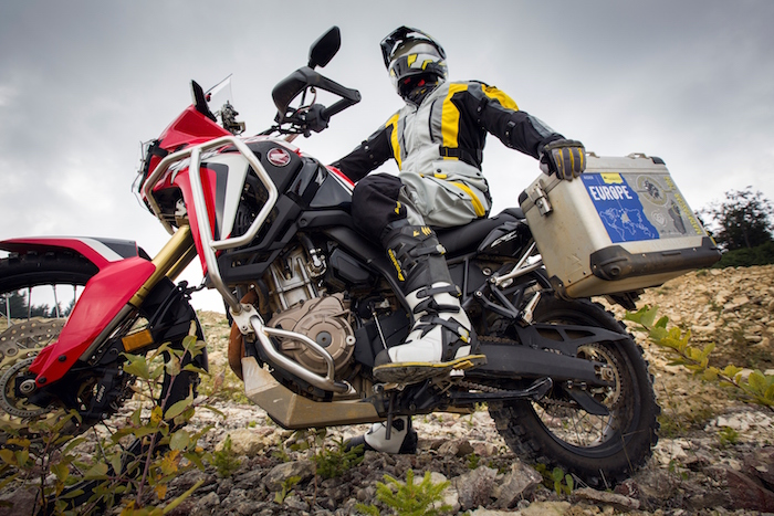 Touratech Destino adventure boots
