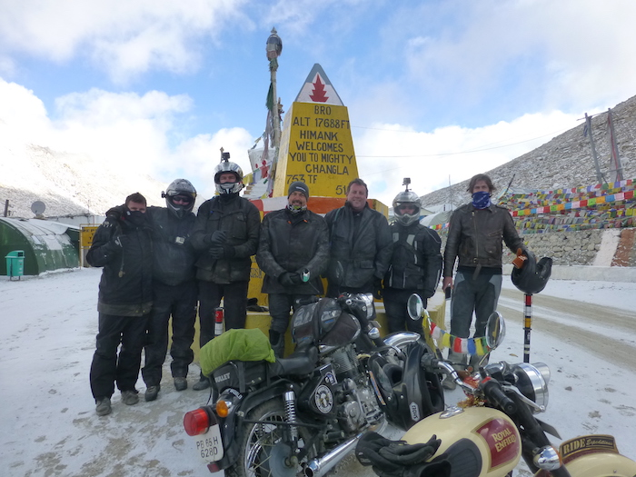 Motorcycle touring the Himalayas