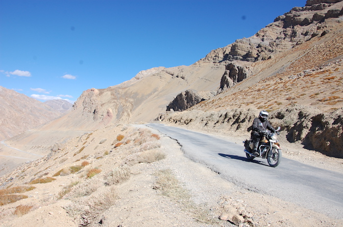 Riding in the Himalayas
