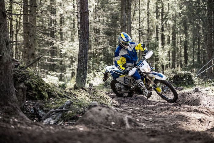 Husqvarna 701 in action