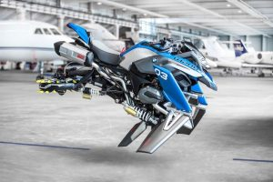 BMW and Lego Technic Team unveil a flying R 1200 GS Adventure concept