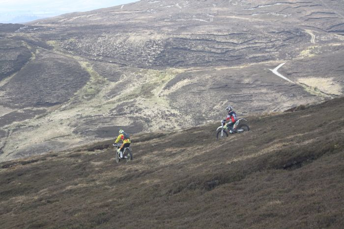 Off-road riding in Ireland