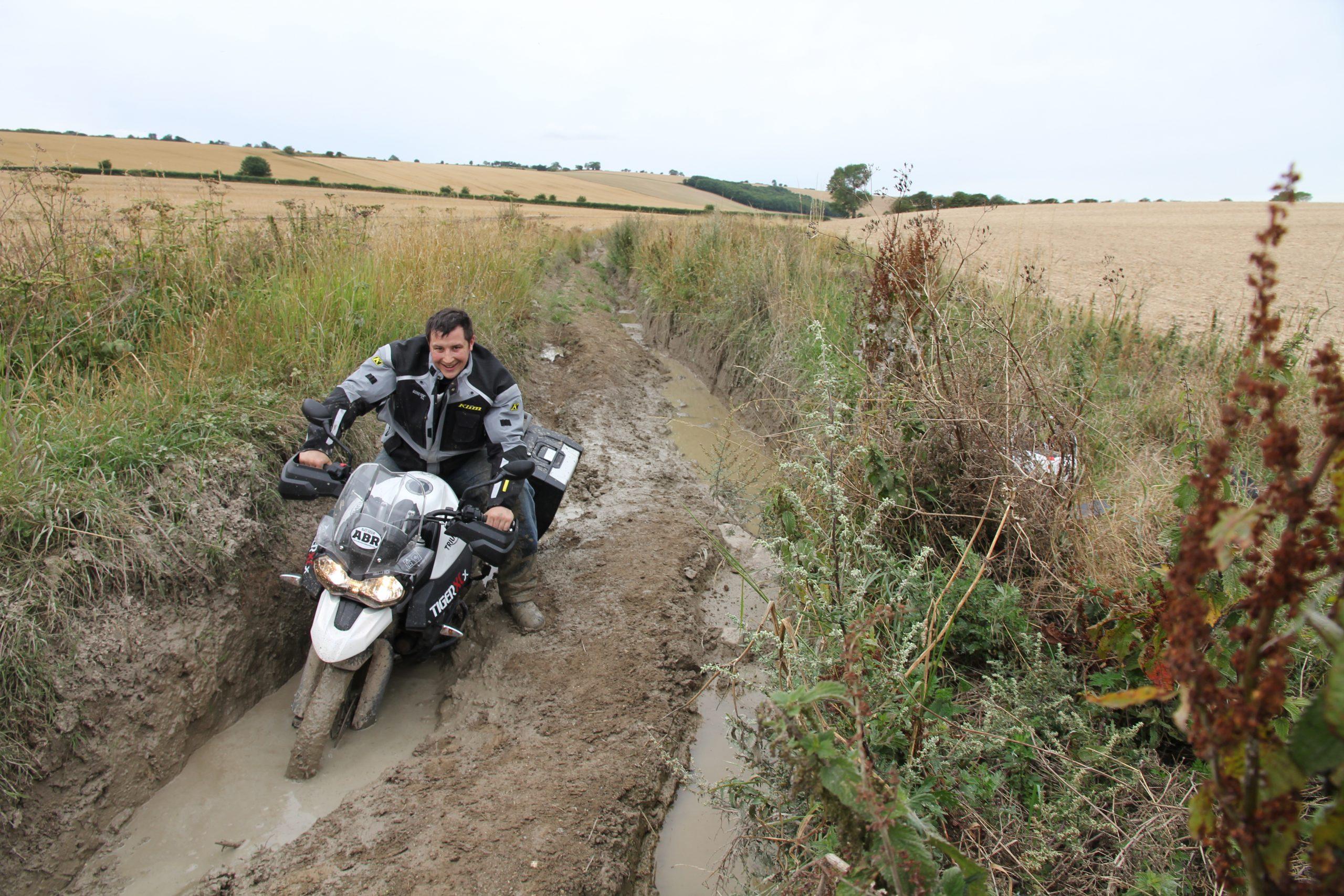 Bryn Davies editor of Adventure Bike Rider