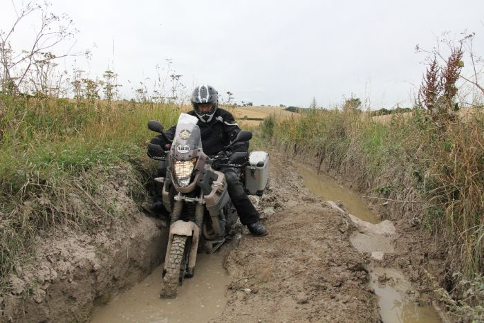 Riding the Ridgeway
