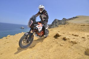 KTM Super Adventure 1290 R in action