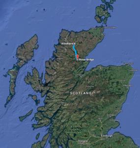 North-East-Scotland-weekender-map-Altnaharra-to-Bonar-Bridge