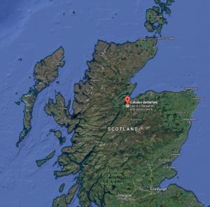 North-East-Scotland-weekender-map-Culloden-Battlefield