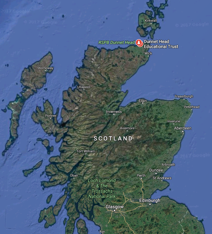 North-East-Scotland-weekender-map-dunnet-head
