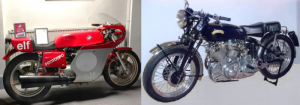 £10,000 reward for the return of two stolen motorcycles