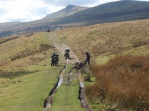 Kirby Stephen trails in Cumbria