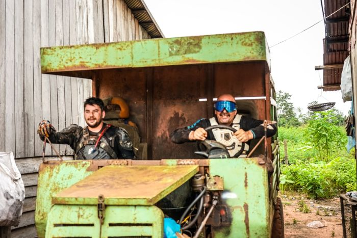 Motorcycle tour in Cambodia