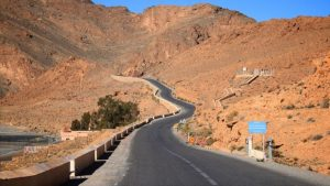 Morocco motorcycle route