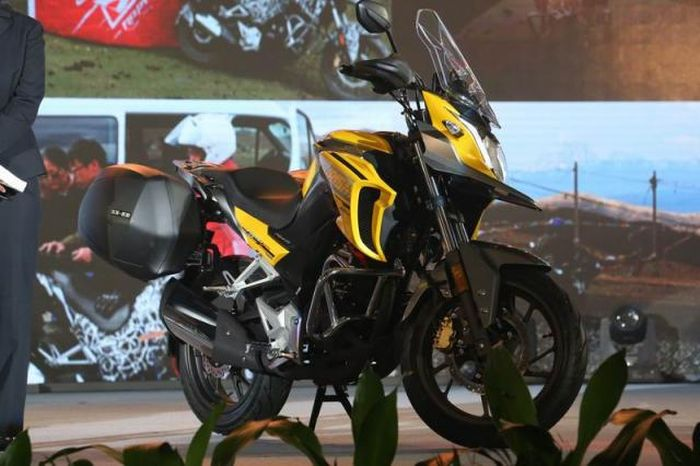Honda CB190X motorcycle