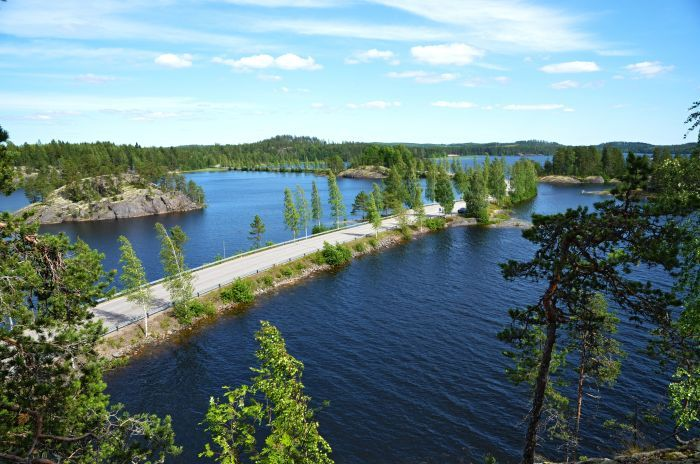 Lake Saimaa in Finland