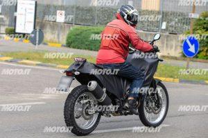Spy shot of the Yamaha Tenere 700