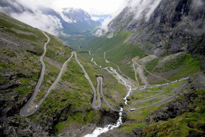 Trollstigen in Norway