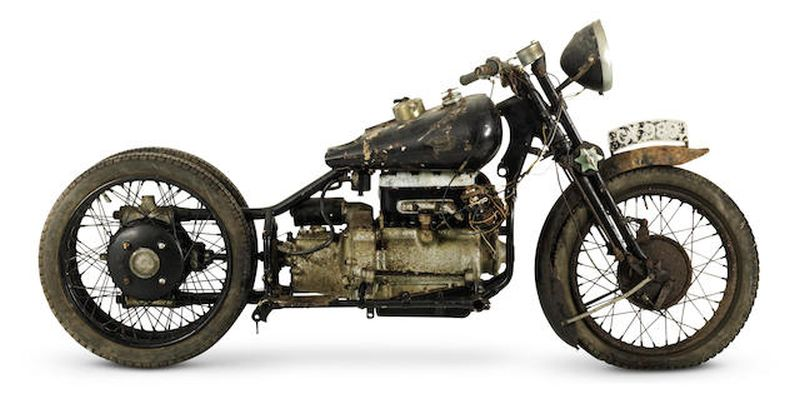 1931 Brough Superior BS4 project