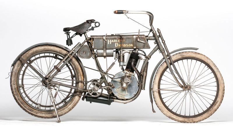 Harley Davidson Strap Tank 1907