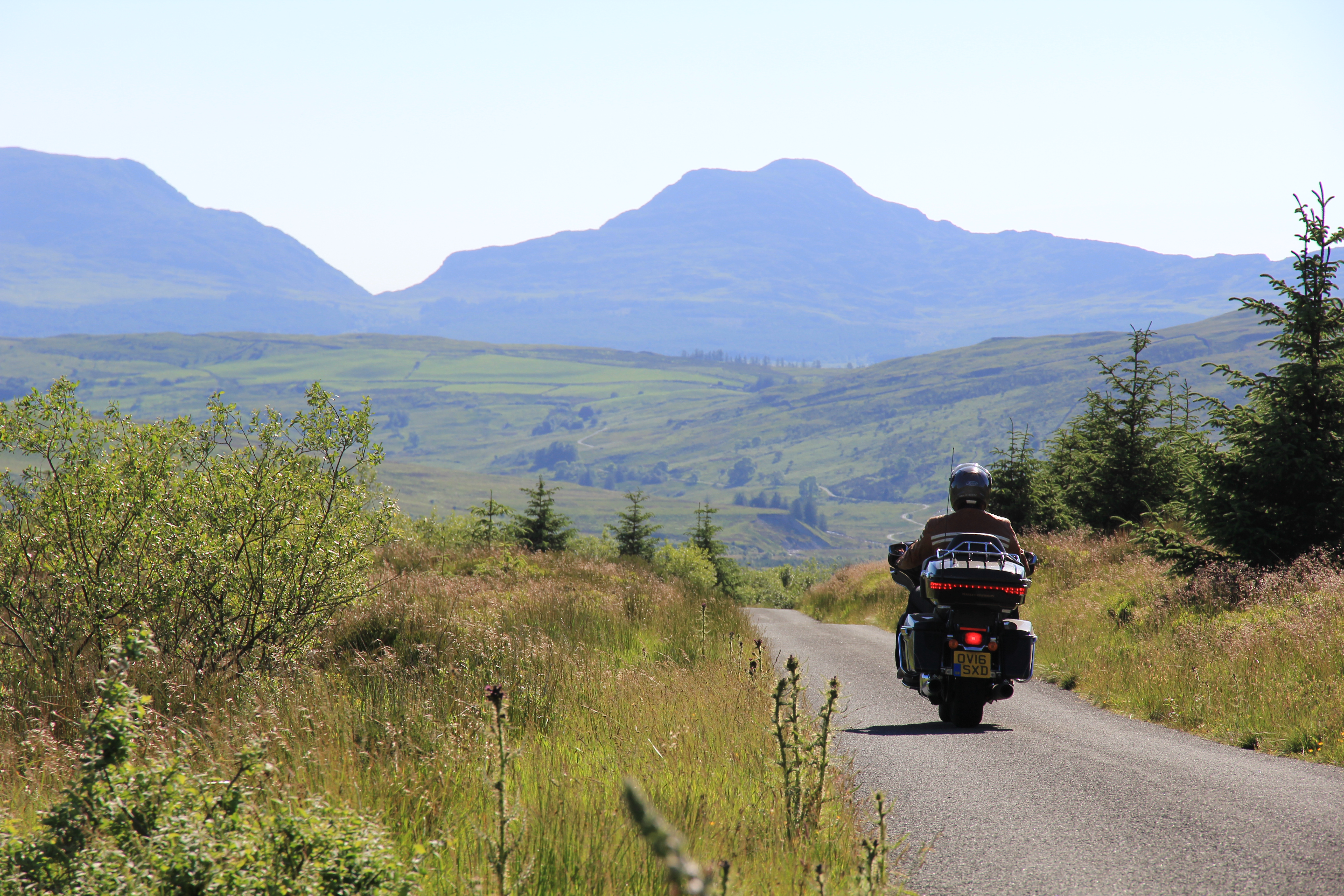 Snowdonia Discovery Route Harley