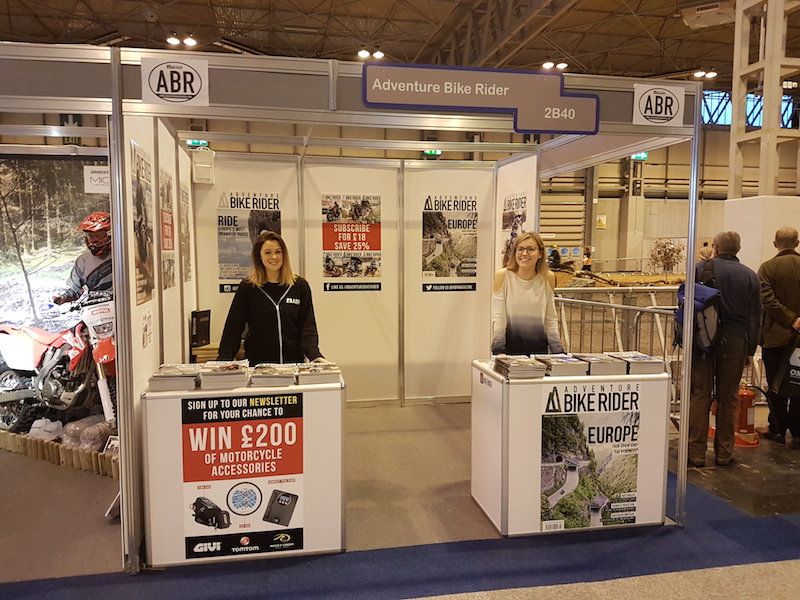 ABR at Motorcycle Live
