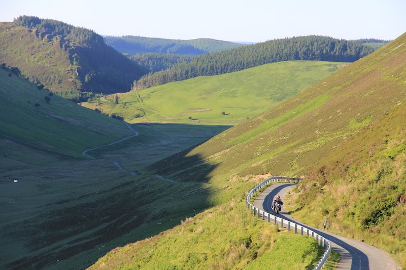 Motorcycle tours in Snowdonia