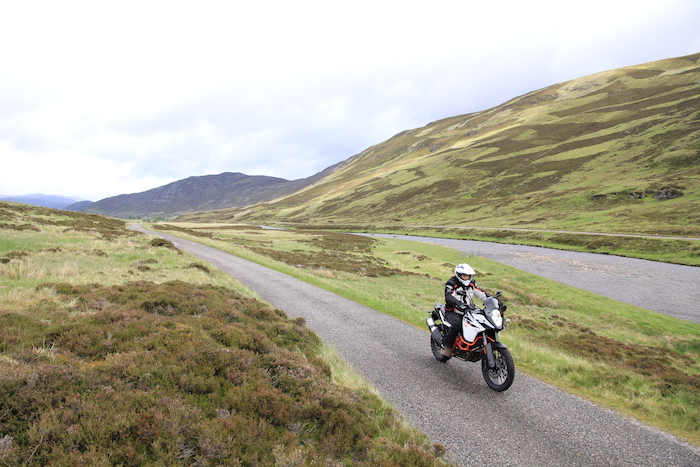 KTM 1090 Adventure R in Scotland