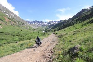 Motorcycle touring in Colorado