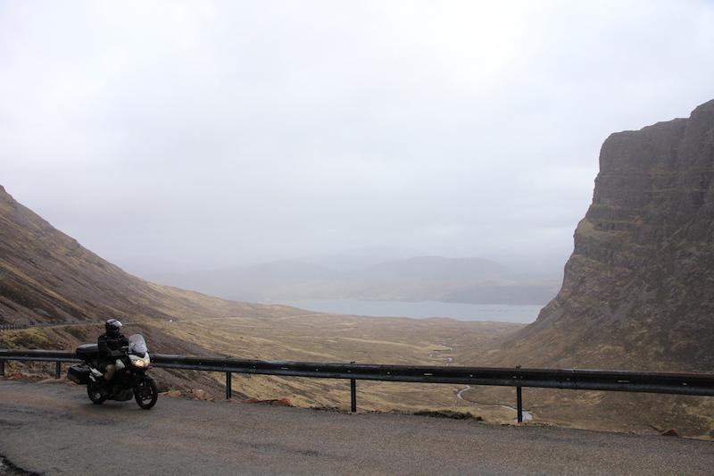 Riding on Bealach na Ba
