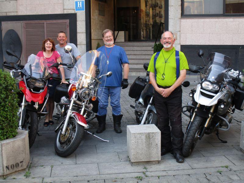 Sierra Alama motorcycle tours Salamanca