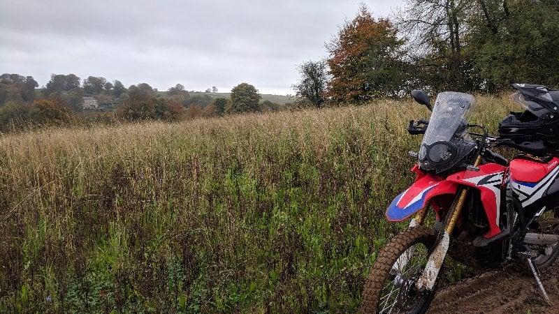 Riding the Trans Euro Trail UK