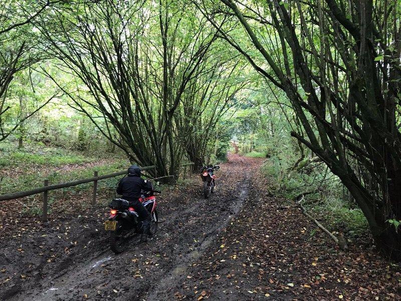 UK Trans Euro Trail motorcycling