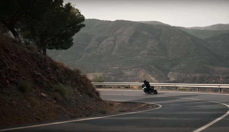 BMW F850GS teaser video
