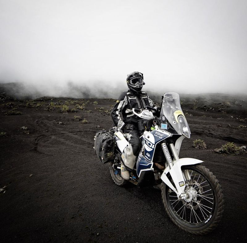 Motorcycling Volcan De Pacaya, Guatemala