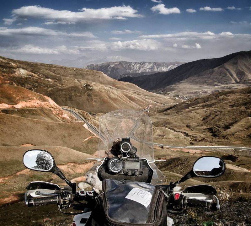 Motorcycling in Kyrgyzstan