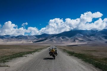 Motorcycling Pamir Highway