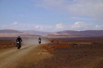 The Sahara desert in Morocco