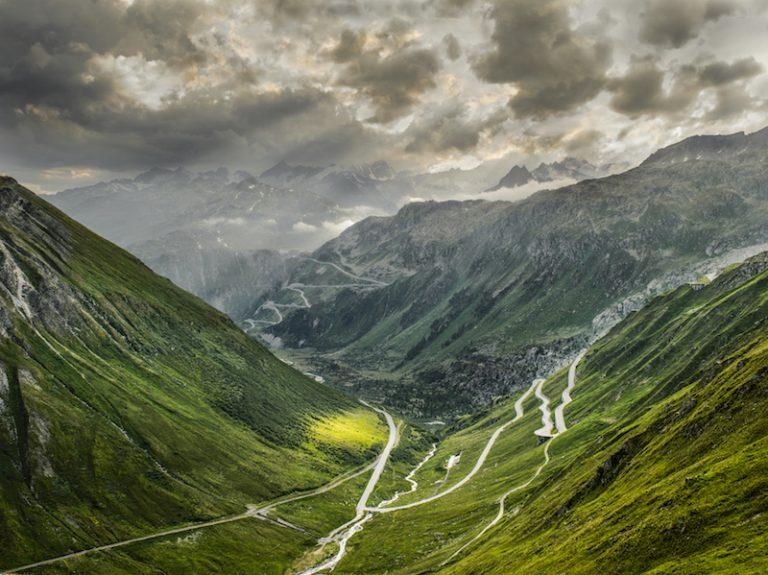 the furka pass in switzerland