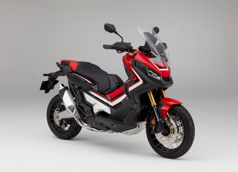 stock image of the honda x-adv