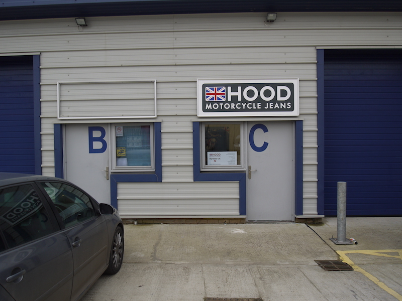 Hood Jeans factory in Norfolk