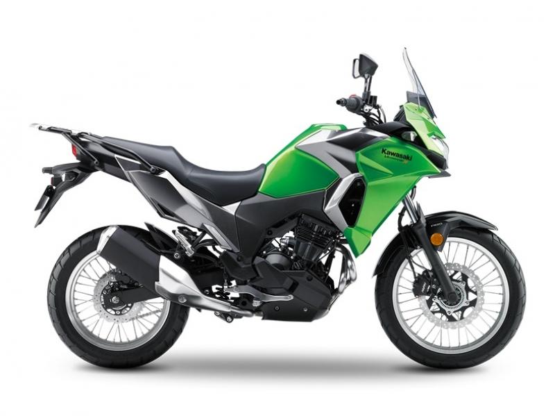 Kawasaki Versys-X 300 stock image