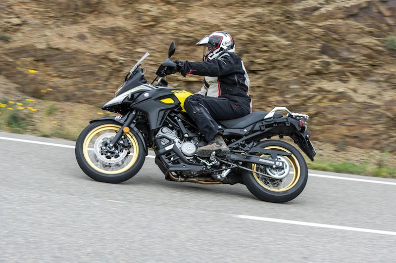 Suzuki V-Strom 1000 side
