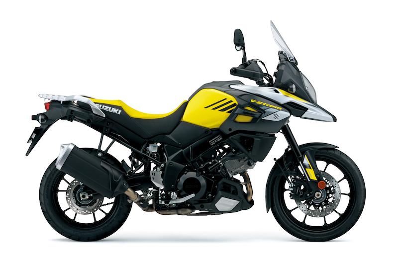 Suzuki V-Strom 1000 yellow