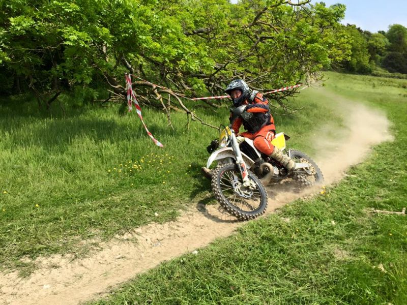 Actiontrax motorcycle enduro day