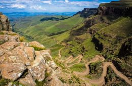 Sani Pass in South Africa
