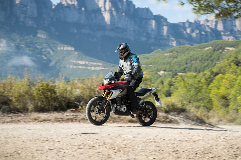 BMW 310GS off-road